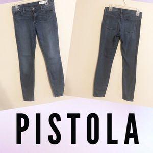 Pistola dark wash skinny jeans size 28